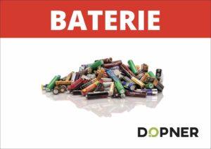 Nálepka baterie na popelnice – A4