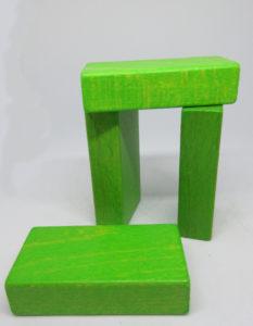 Kostkoviště – deska malá barva 50 ks