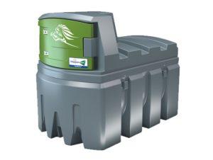 Mobilní nádrž na naftu 2500 LTR dvouplášťová