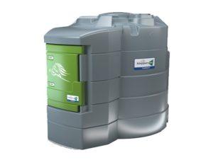 Mobilní nádrž na naftu 9000 LTR dvouplášťová