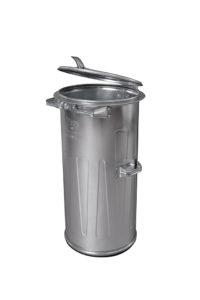 Pozinkovaná (plechová) popelnice 110 l
