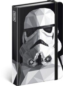 Notes Star Wars – Clone, linkovaný, 10,5 x 15,8 cm