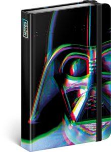 Notes Star Wars – Vader, linkovaný, 10,5 x 15,8 cm
