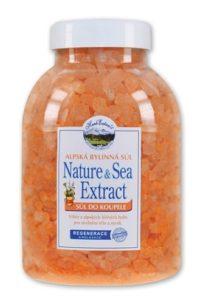 Sůl do koupele Herbal Alpské byliny HERB EXTRACT 1500g