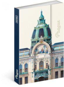 Notes  Praha – Libero Patrignani, linkovaný, 10,5 x 15,8 cm