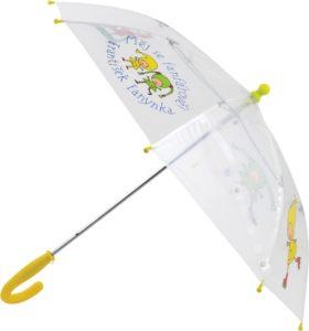 Kouzelná školka – deštník dětský průhledný, 66 cm