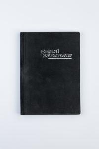 Denní záznamy A5 UNI PVC semiš šedá