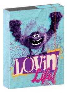 W. Disney Příšerky Girls – desky na školní sešity A4