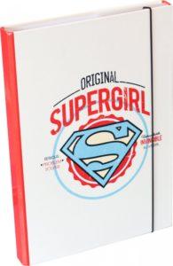 Desky na školní sešity Supergirl