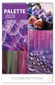 Paleta 2020, 33 × 46 cm