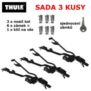 Thule ProRide 598 Black 3 ks