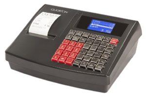 Quorion QMP 18 2xRS/USB/OL, registrační pokladna bez zásuvky černá