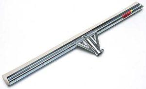 AllServices úklidová stěrka na podlahu 55 cm – kov, bílá guma Z007B