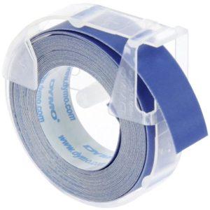 Páska Dymo 3D, 9mm modrá, bílý tisk, 3m – 1ks