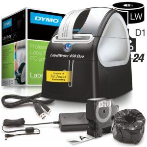 Tiskárna štítků Dymo LabelWriter 450 Duo (USB)