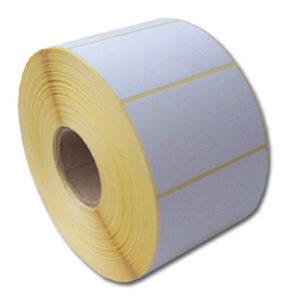 Termo etikety 60 x 39,TE 60/39, 60×39, 1000 etiket/kotouček, karton