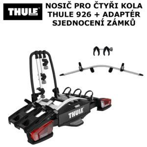 Thule VeloCompact 926 + adaptér 926-1 pro čtvrté kolo
