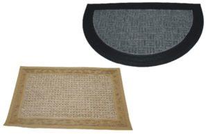AllServices Excelent Rohožka půlkruhová koberec guma 40 x 60 cm