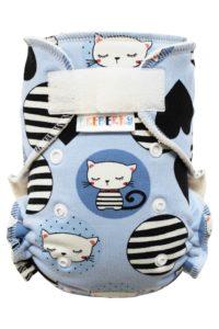 Kalhotková plenka – Kočičky SZ, bílé patentky
