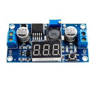 DC/DC měnič step down LM2596 s voltmetrem