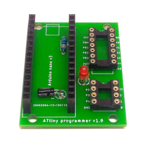 Programátor ATtiny 84/44/24 a 85/45/25