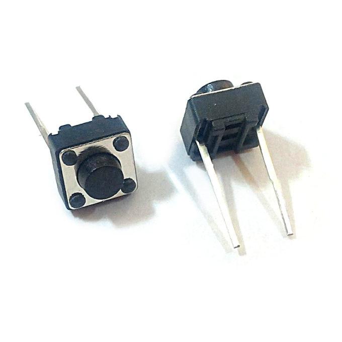 Mikrospínač tht do kontaktního pole