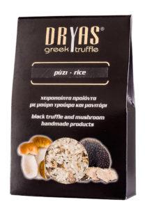 Rýže s houbami portobello a černými řeckými lanýži 300g DRYAS
