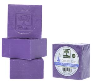 Přírodní olivové mýdlo s levandulí 200g BIOselect®