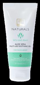 Zklidňující Aloe vera gel na obličej a tělo 100ml BIOselect® NATURALS