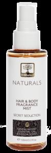 Tělový sprej na vlasy a tělo SECRET SEDUCTION 100ml BIOselect® NATURALS