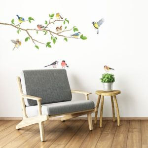 Dekorační nálepka-ptáci – 100 x 43 cm