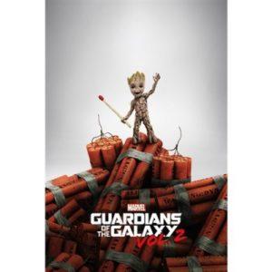 Plakát Guardians of the Galaxy 2 – Groot Dynamite