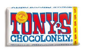 Tony's Chocolonely – bílá čokoláda, 180 gramů
