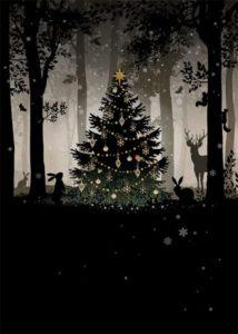 Přání MC053 BUG ART – vánoční