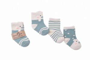 Mama's Feet Dětské ponožky Gangsters Squad Cunning Pigs modré