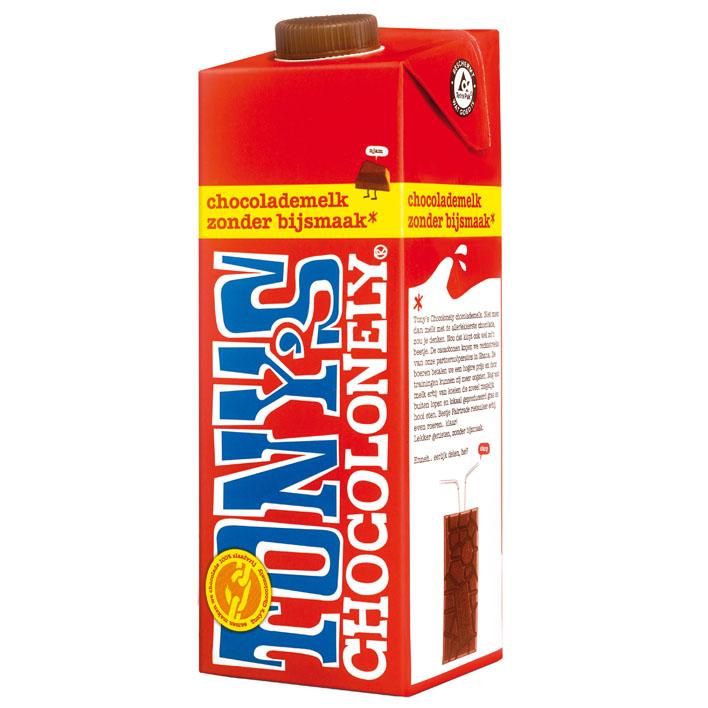 Tony's Chocolonely – čokoládové mléko, 1 litr