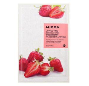 Joyful Time Essence Mask Strawberry – plátýnková maska se zjemňujícím účinkem