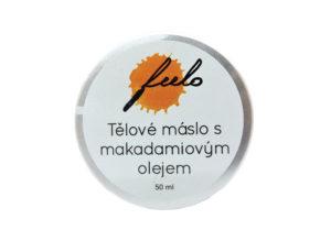 Tělové máslo s makadamiovým olejem
