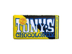 Tony's Chocolonely – bílá čokoláda, citron a makový koláč, 180 gramů