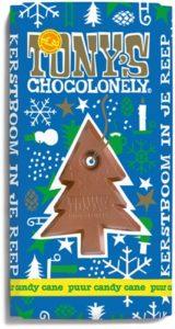 Tony's Chocolonely – hořká čokoláda, cukrová třtina a máta, 180 gramů