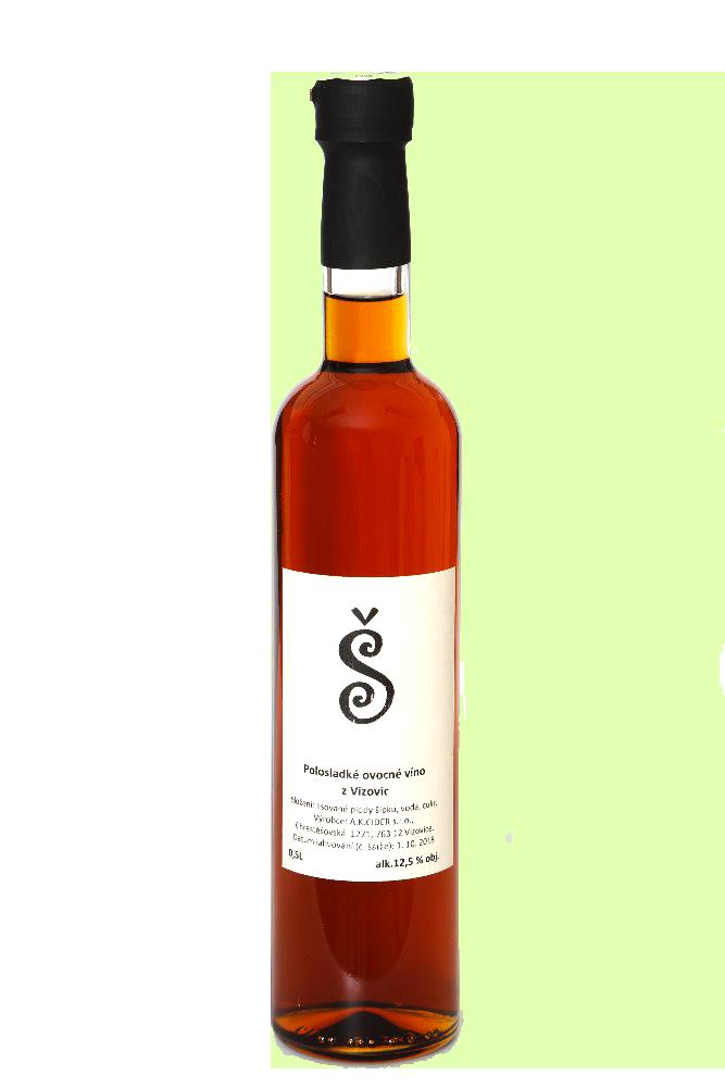 A.K. Šípkové víno 12,5 %