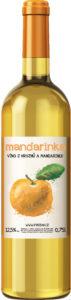 Mandarinkové víno 0,75l