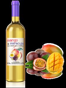Víno mango & maracuja 0,75l