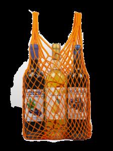 Síťovka v pytlíku – oranžová