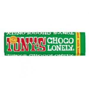 Tony's Chocolonely – mléčná čokoláda, oříšky, 47 gramů