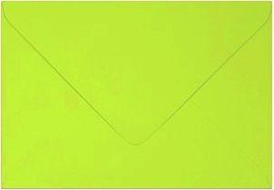 barevná obálka 130×130 ZELENÁ LIMETKOVÁ, 20 KS