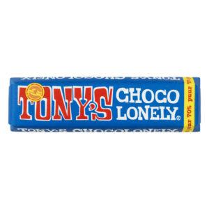 Tony's Chocolonely – hořká čokoláda, 50 gramů