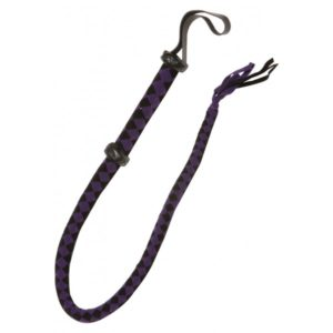 Bič černo-fialový