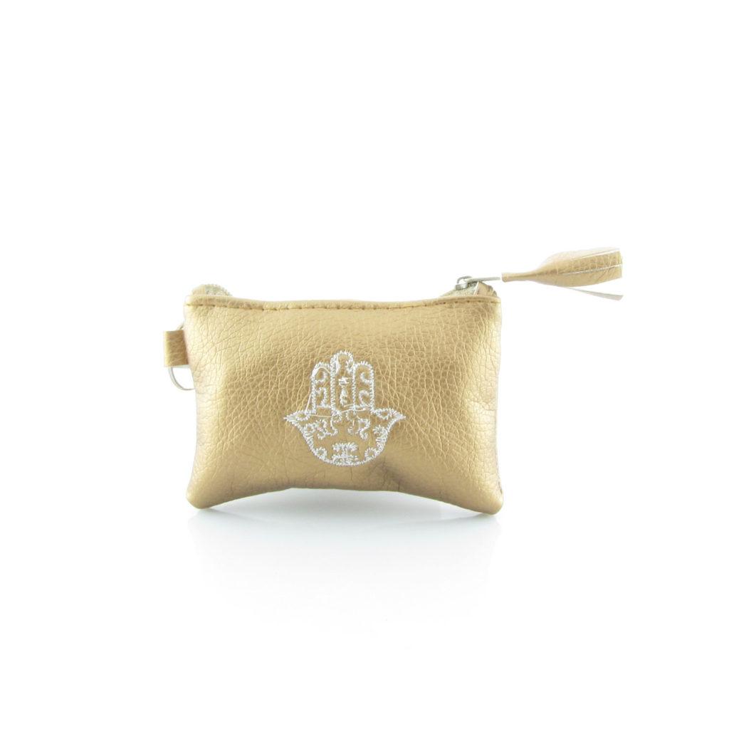 Pouzdro na klíče s rukou Fatimy – bronzové – mini