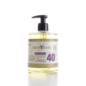 Mýdlo Aleppo – tekuté – Saryane 500ml